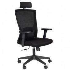 Registratūros, biuro kėdė COMFORT 32H, juoda