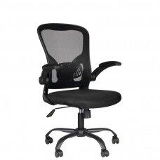 Registratūros, biuro kėdė COMFORT 73, juoda