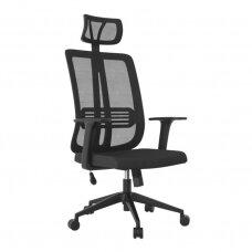 Registratūros, biuro kėdė MAX COMFORT 5H, juoda