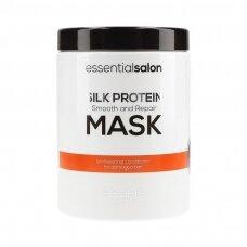 SCANDIC PROTEIN MASK  plaukus išlyginanti ir minkštinanti kaukė su šilko proteinais, 1 Ltr