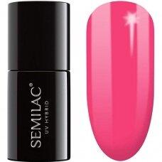 SEMILAC 008 gelinis lakas Hybrid Intensive Pink 7 ml