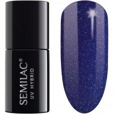 SEMILAC 087 Hybrid Glitter Indigo 7 ml