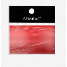 SEMILAC RED 04 dekoratyvi folija nagų dailei, raudona