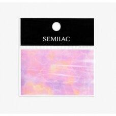 SEMILAC PINK MARBLE 11 dekoratyvi folija nagų dailei