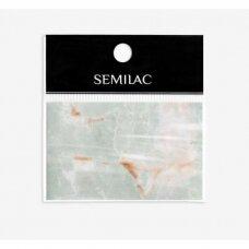 SEMILAC GREY MARBLE 10 dekoratyvi folija nagų dailei