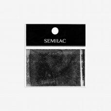 SEMILAC 06 dekoratyvinė folija nagų dailei BLACK LACE