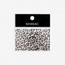 SEMILAC WILD ANIMALS 17 dekoratyvinė folija nagų dailei