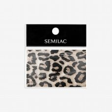 SEMILAC WILD ANIMALS 21 dekoratyvinė folija nagų dailei