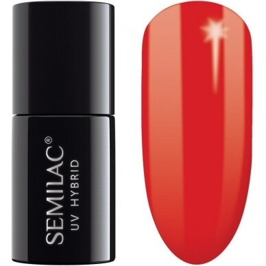SEMILAC 063 Hybrid Legendary Red 7 ml