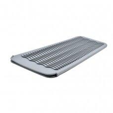 Silikoninis kilimėlis/rankovė karštoms žnyplėms laikyti, pilkas