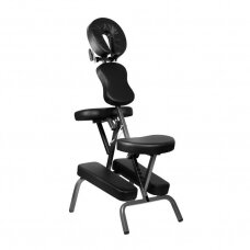 Sulankstoma tatuiruočių/ masažo nešiojama kėdė PRO INK 1811B, juodos spalvos