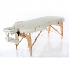 Sulankstomas masažo stalas oval 2, kreminis