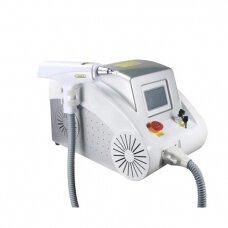 Tatuiruočių ir ilgalaikio makiažo šalinimo aparatas Q switch ND:YAG, 1000W
