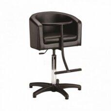 Vaikiška kirpyklos kėdė, juoda