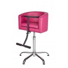Vaikiška kirpyklos kėdė, rožinė