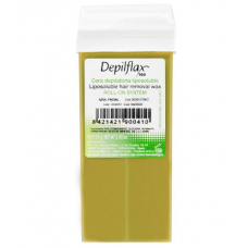 Vaškas depiliacijai natūralus DEPILFLAX , 110 g.