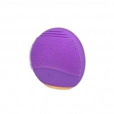 Veido valymo mini šepetėlis XPREEN, violetinės spalvos