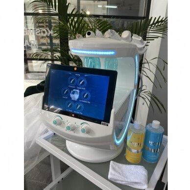 Veido analizatorius + kosmetologinis vandens dermabrazijos prietaisas HYDRO SKIN + 7in1 22