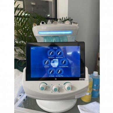 Veido analizatorius + kosmetologinis vandens dermabrazijos prietaisas HYDRO SKIN + 7in1 16