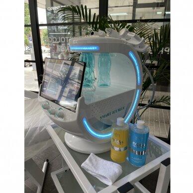Veido analizatorius + kosmetologinis vandens dermabrazijos prietaisas HYDRO SKIN + 7in1 13