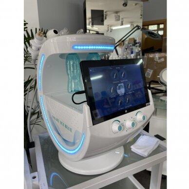 Veido analizatorius + kosmetologinis vandens dermabrazijos prietaisas HYDRO SKIN + 7in1 17