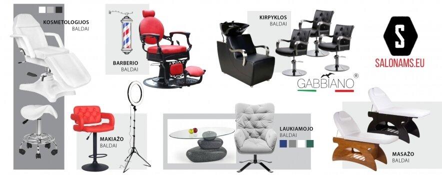 Grožio salonų ir kabinetų baldai