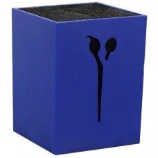 Žirklių stovas/organaizeris, mėlynas